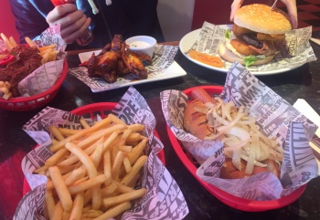 50 States Diner Clydebank Review