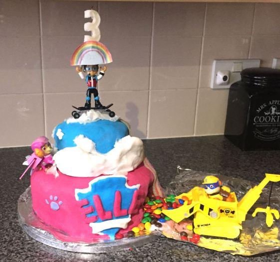 paw-patrol-rubble-skye-cake